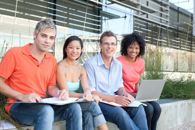 Estudo dos estudantes fotografia de stock