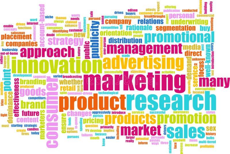Estudos de mercado ilustração royalty free