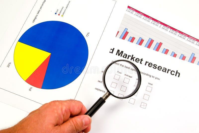 Estudos de mercado fotografia de stock royalty free