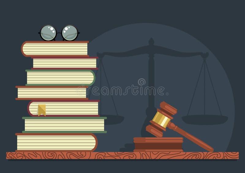 Estudos legais ilustração royalty free