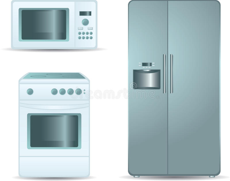 Estufa de cocinar horno microondas y refrigerador sid for Cocinar microondas