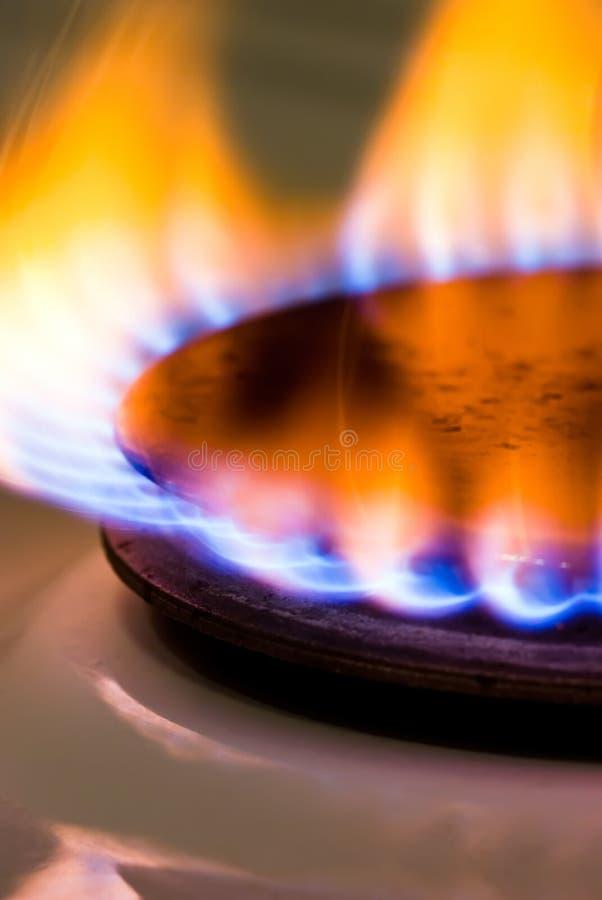 Estufa de gas V3 imágenes de archivo libres de regalías