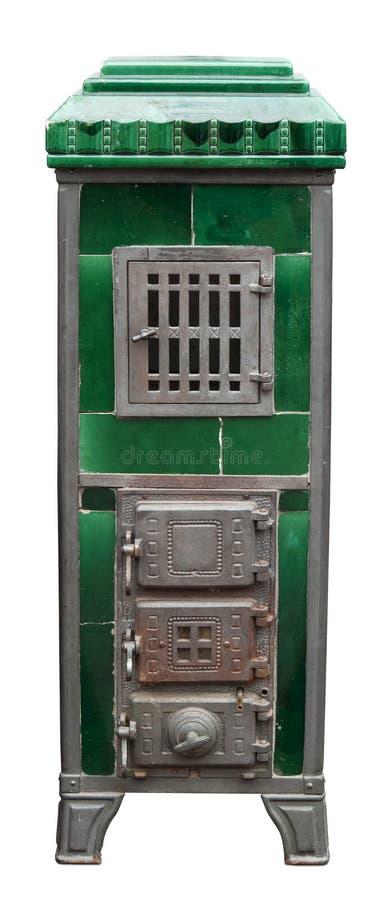 Estufa de la calefacción de la vendimia imagen de archivo libre de regalías