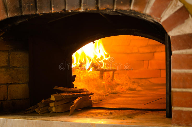 Estufa de la pizza imagenes de archivo