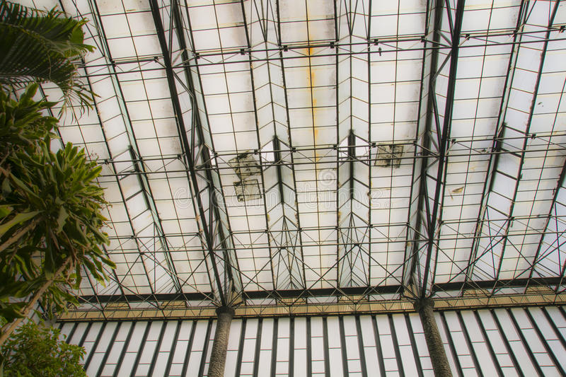 Estufa Fria in Lisbon. Estufa Fria.The Cold Greenhouse is a garden in a greenhouse located in the Parque Eduardo VII, Lisbon,Portugal. Opened in 1933 as the royalty free stock images