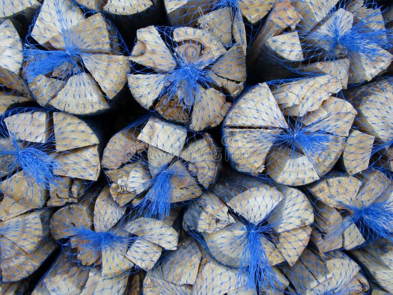A estufa secada entra sacos pescados foto de stock