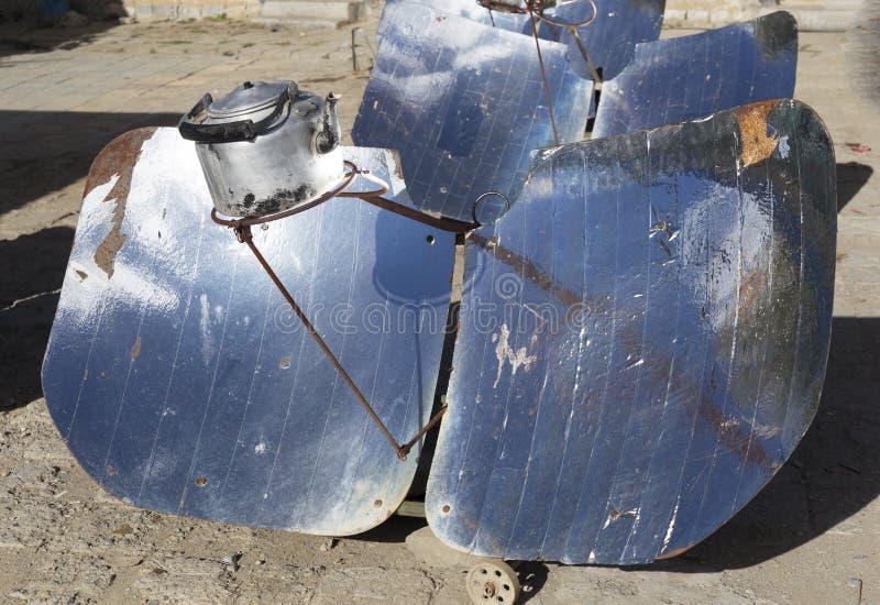 Estufas solares fotografía de archivo libre de regalías