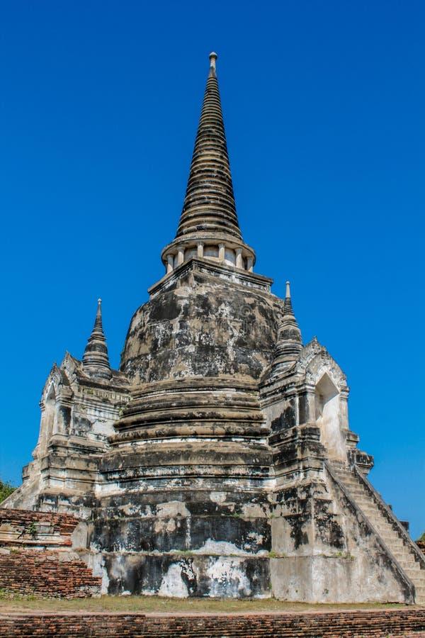 Estupa del antiguo parque histórico de Auttaya en Tailandia fotos de archivo libres de regalías