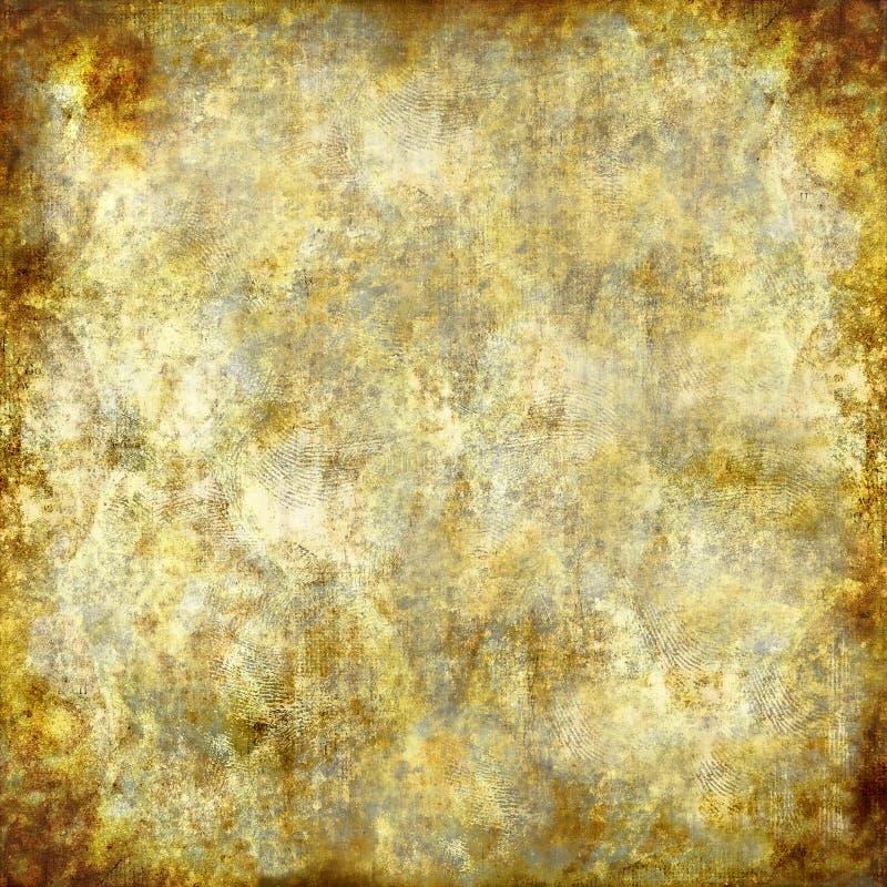 Estuque dourado ilustração royalty free