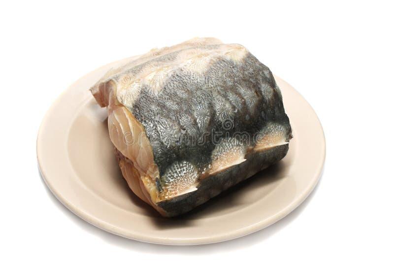 Esturión de los pescados de la carne. imagen de archivo libre de regalías