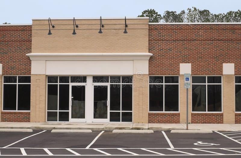 Esvazie o edifício comercial fotos de stock royalty free