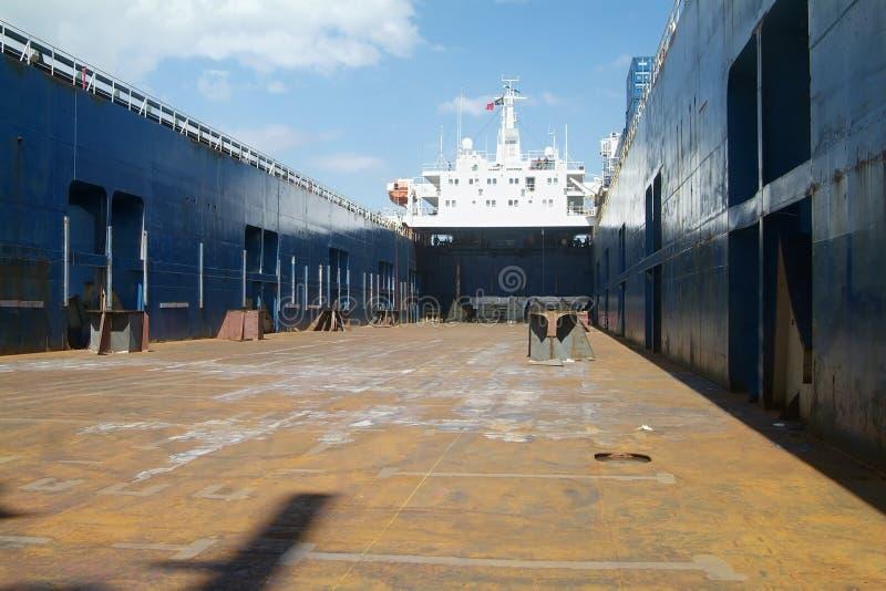 Esvazie o navio imagens de stock royalty free