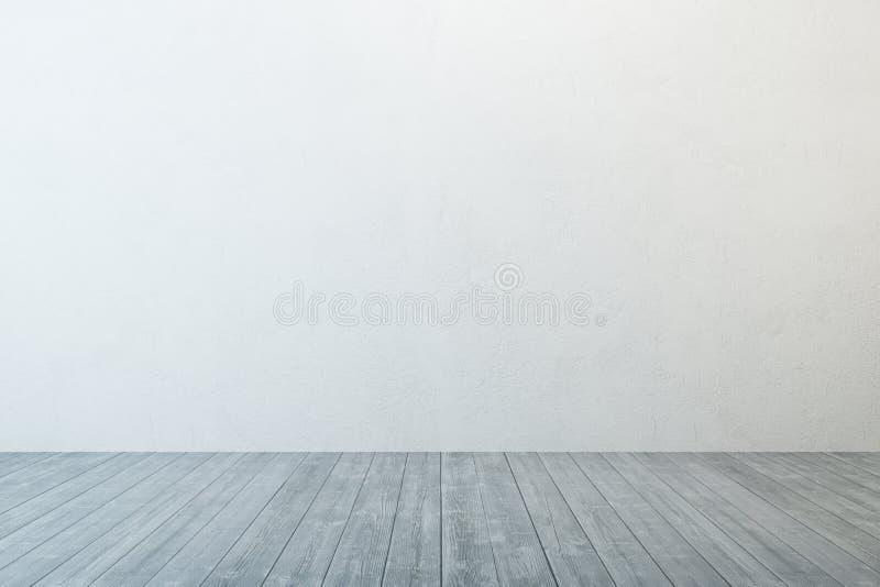 Esvazie o quarto branco ilustração royalty free