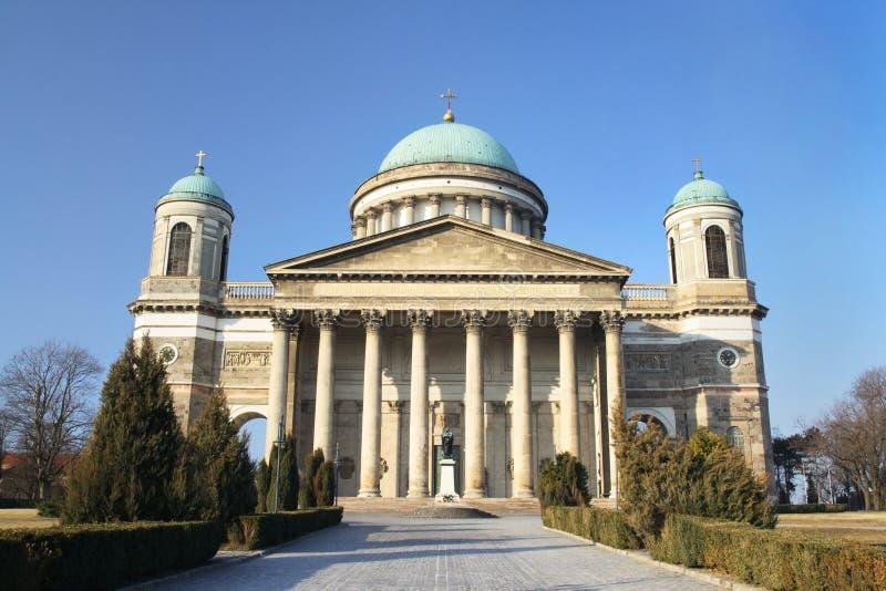 Esztergom Basilica, Hungary royalty free stock photography