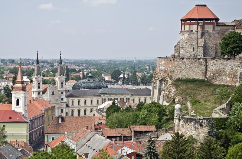 Esztergom Ungern royaltyfri bild