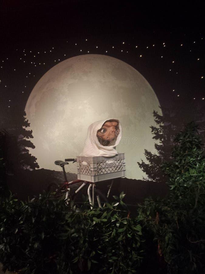 ET Мадам Tussaud стоковое изображение