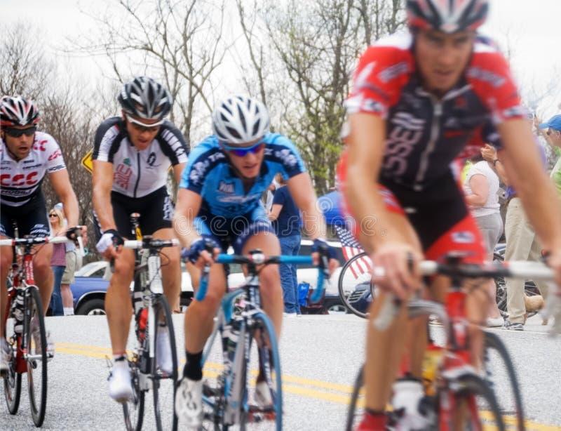 Etapa de la raza KOM de la bici imagen de archivo libre de regalías
