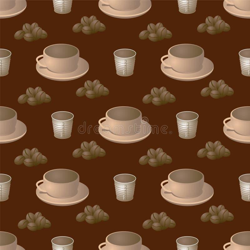 Etapa do café ilustração stock