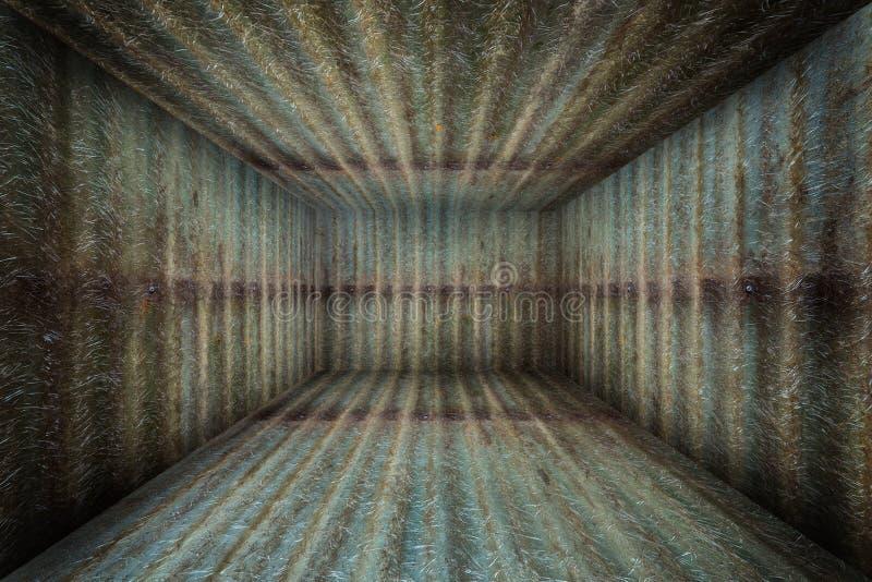 Etapa interior del sitio del metal urbano abstracto libre illustration