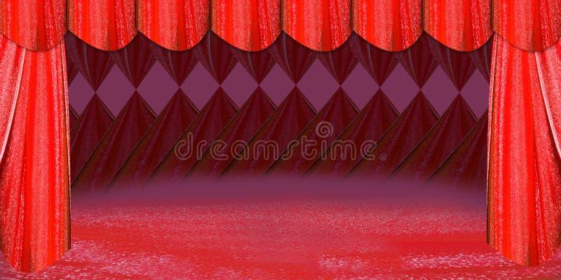 Etapa roja imagenes de archivo