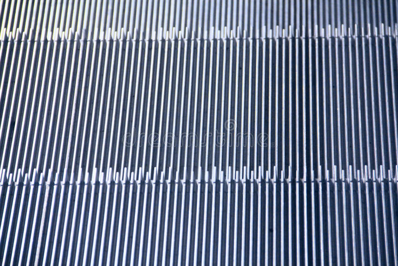 Etapas de escada rolante foto de stock