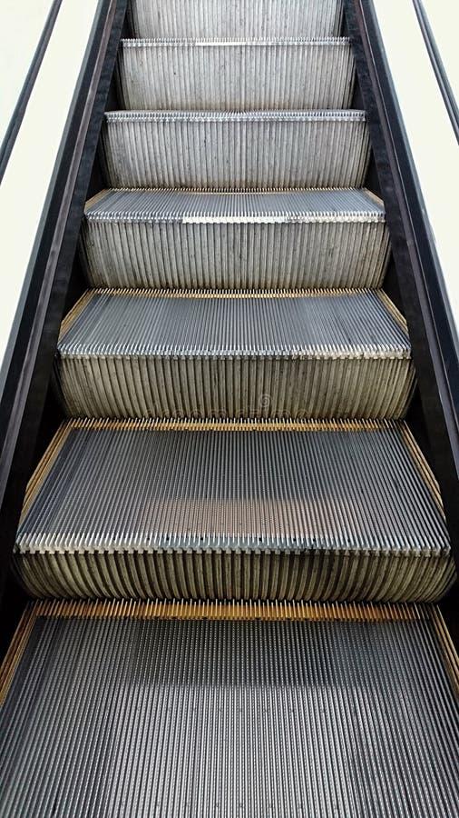 Etapas de escada rolante imagens de stock royalty free