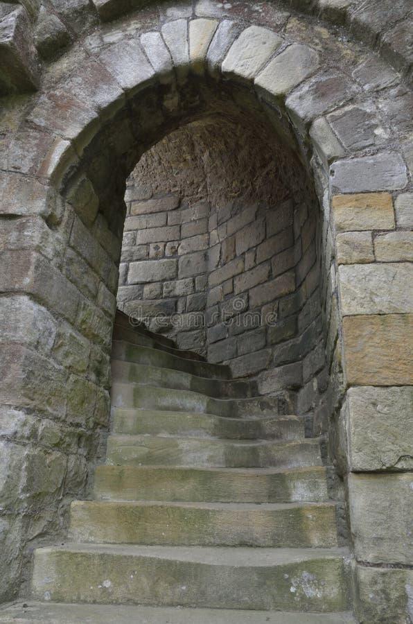 Etapas do castelo imagens de stock