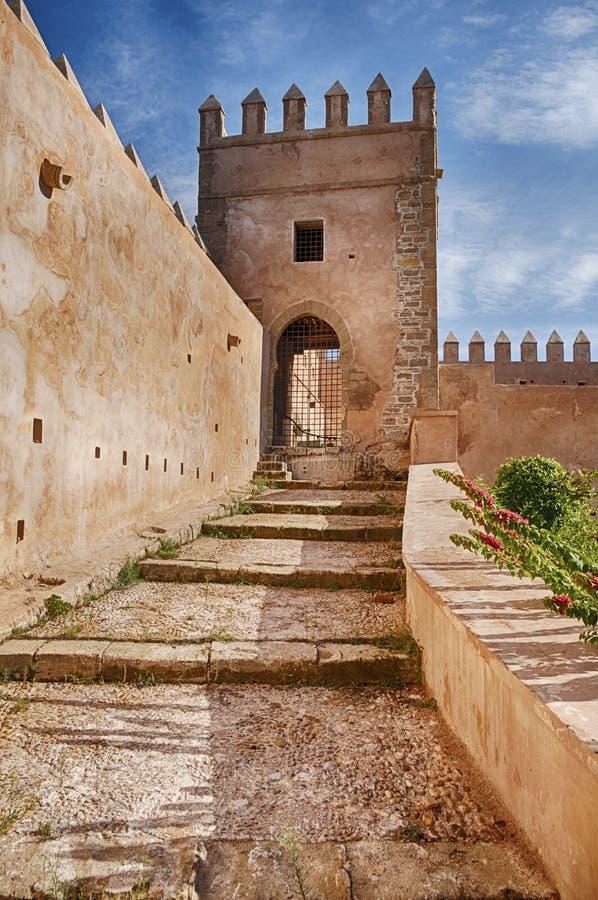 Etapas no Rabat Kasbah imagem de stock royalty free