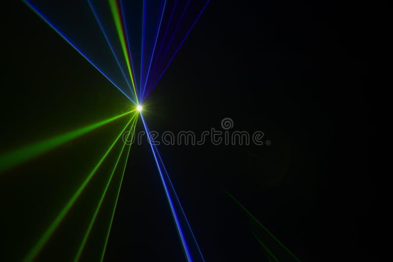 Etappljus med laser royaltyfri fotografi