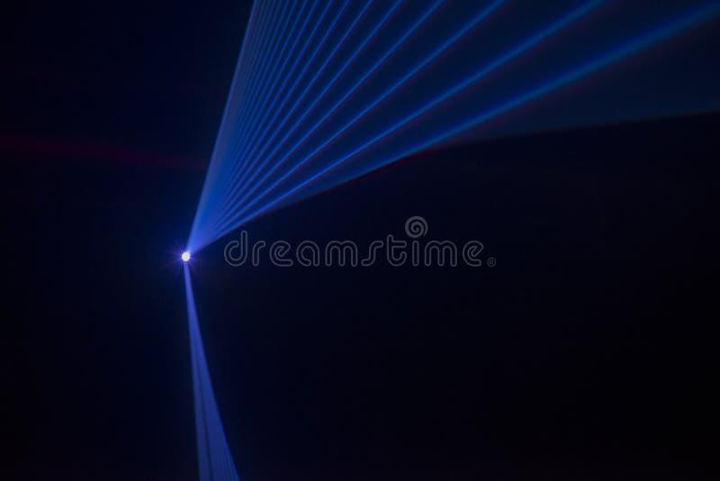 Etappljus med laser fotografering för bildbyråer