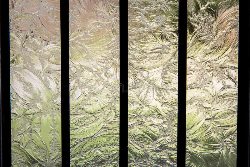 Etched Glass stock image