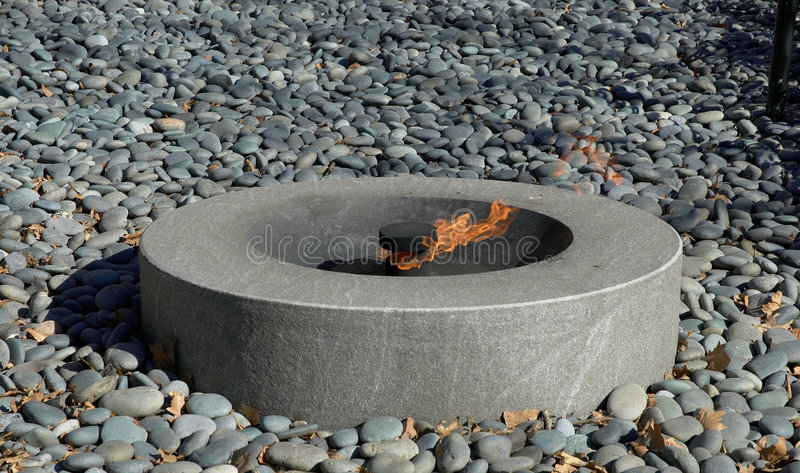 Eternal Flame stock photo