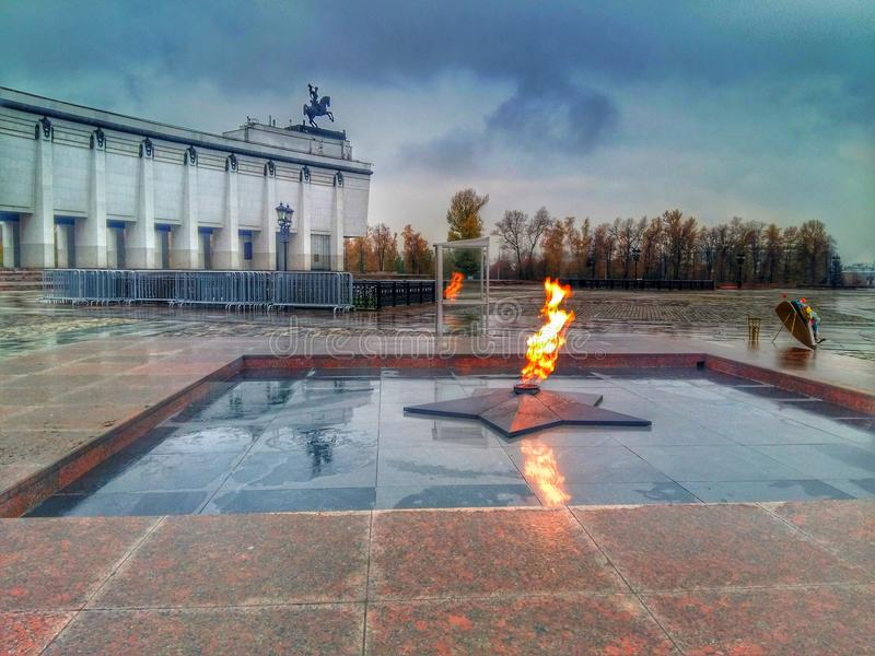 Eternal flame royalty free stock images