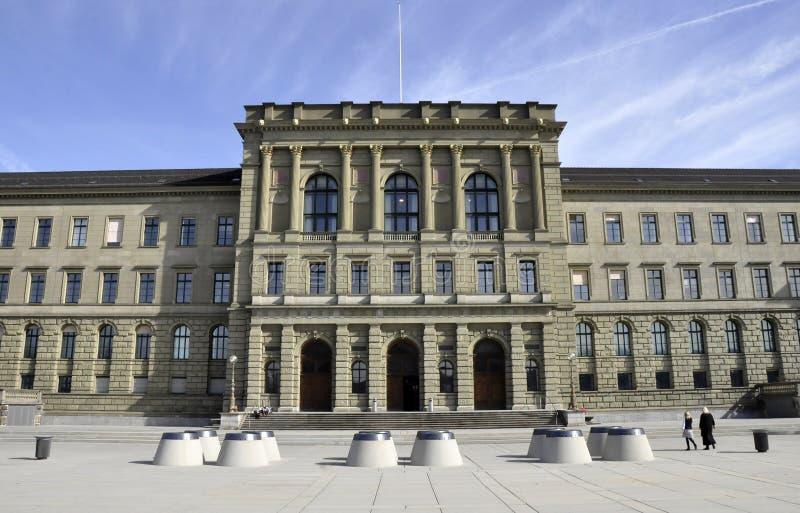 ETH Universiteit, Zürich stock afbeeldingen
