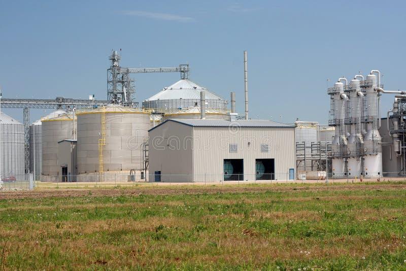 Ethanol Plant stock photos