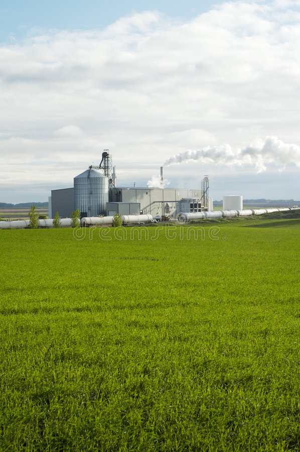 Ethanol Plant 3 stock photos