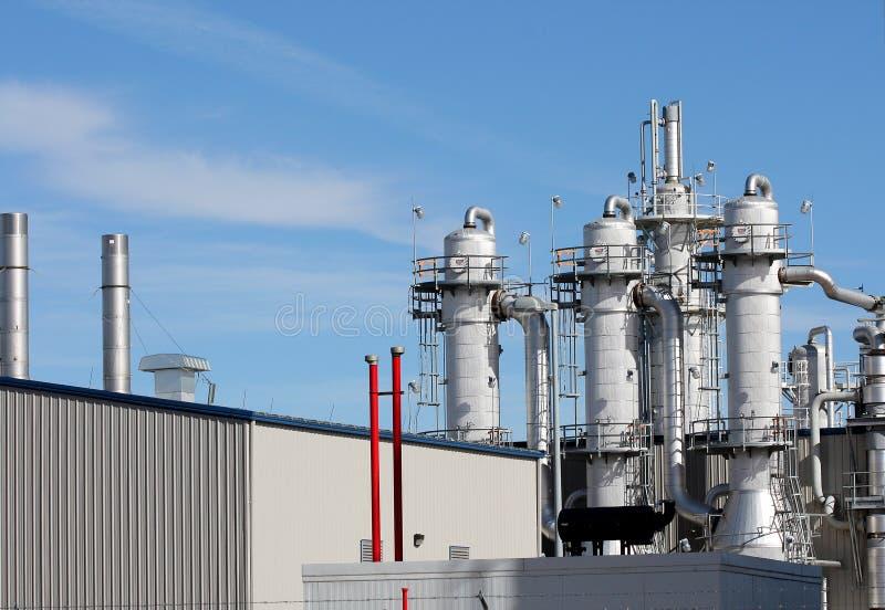 Ethanol Plant royalty free stock photo