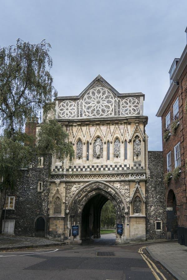 Ethelbert brama, Norwich obrazy royalty free