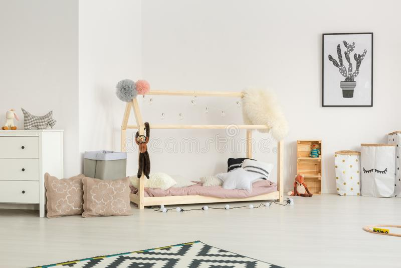 Ethereal ελαφρύς βρεφικός σταθμός μωρών στοκ εικόνες