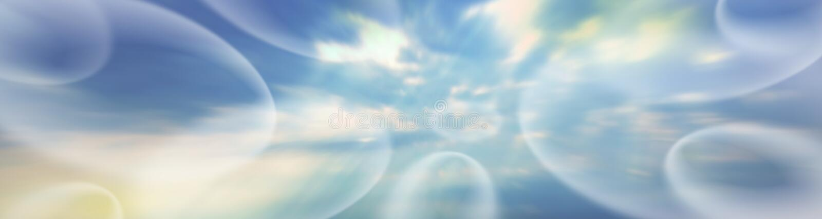 Ethereal Banner # 4 royalty free illustration