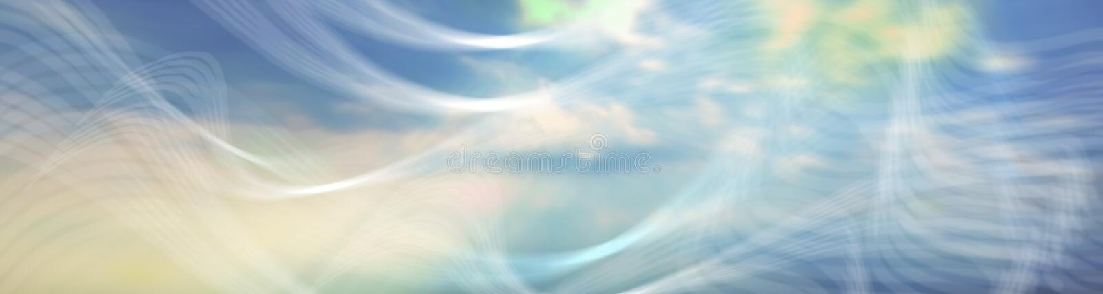 Ethereal Banner # 5 royalty free illustration
