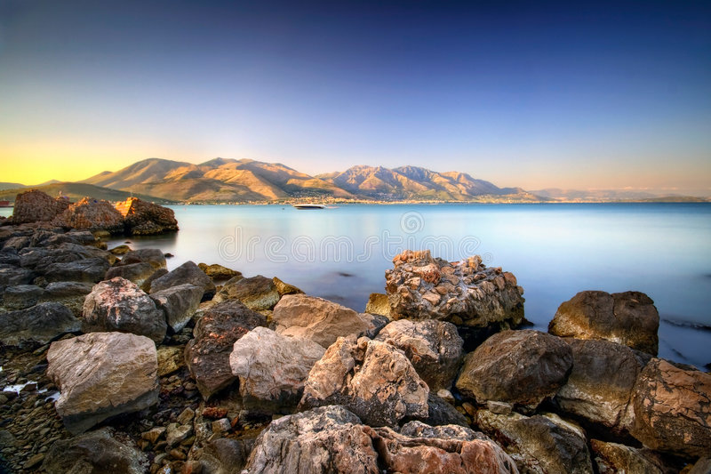 Download Ethereal Stillness III stock image. Image of sunset, frozen - 7330801