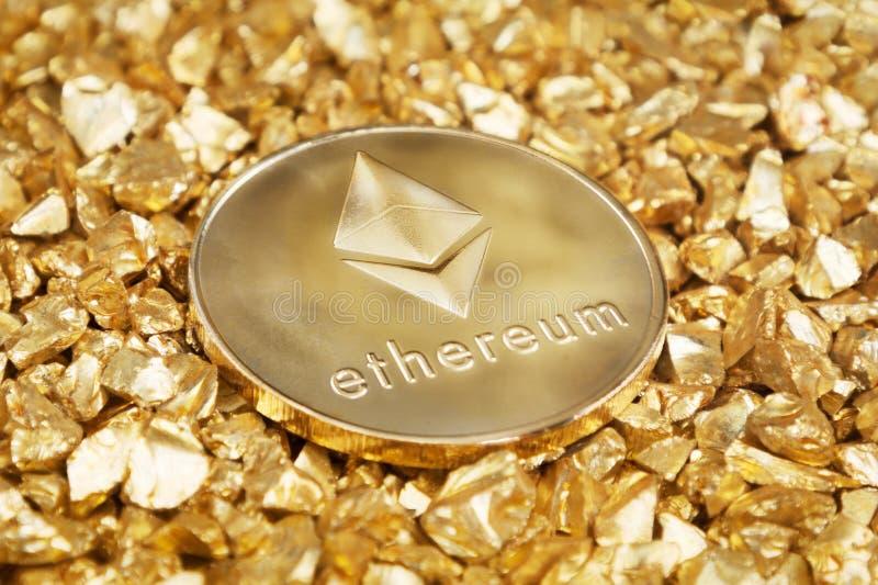 Ethereum lizenzfreies stockfoto