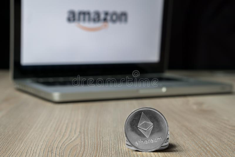 amazon copyrighted a cryptocurrency coin