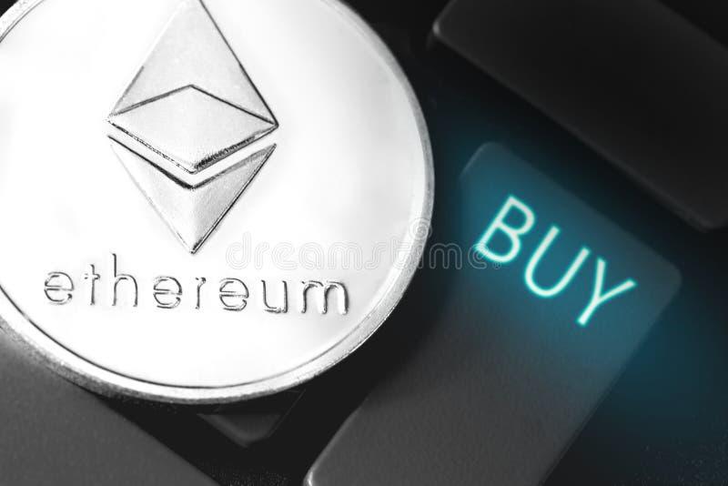 Ethereum-M?nze lizenzfreie abbildung