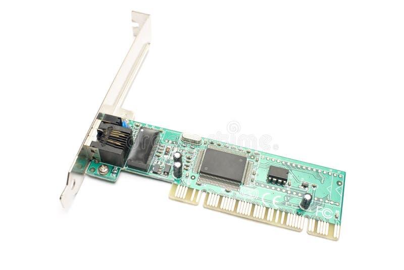 Ethernet fotografia stock