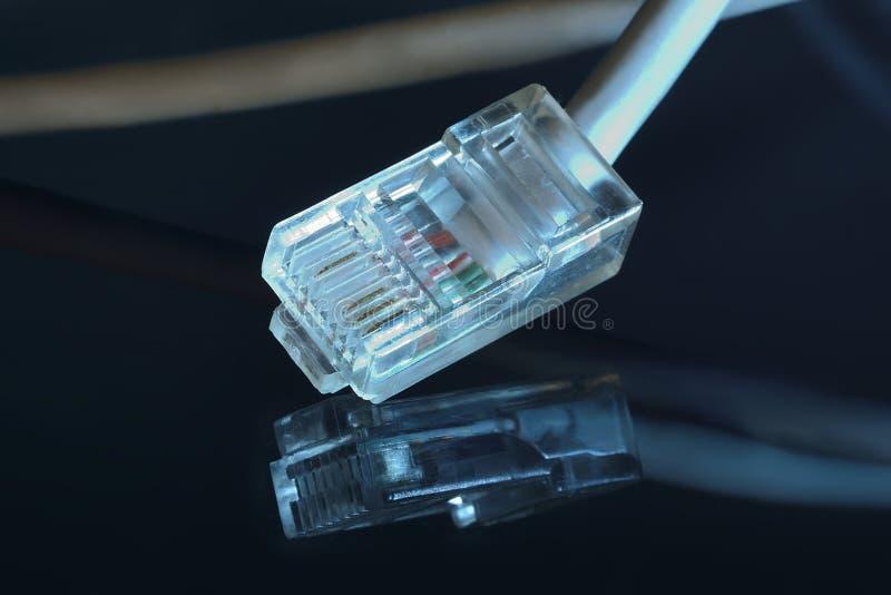 Ethernet prymka (rg45) obrazy stock