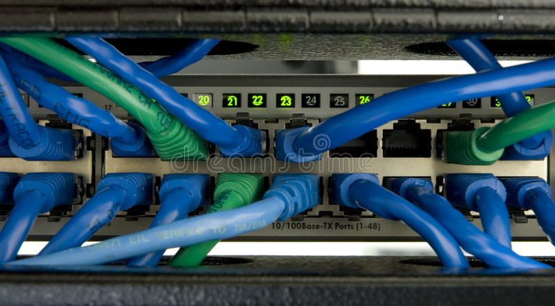 Ethernet Switch 1 stock photos