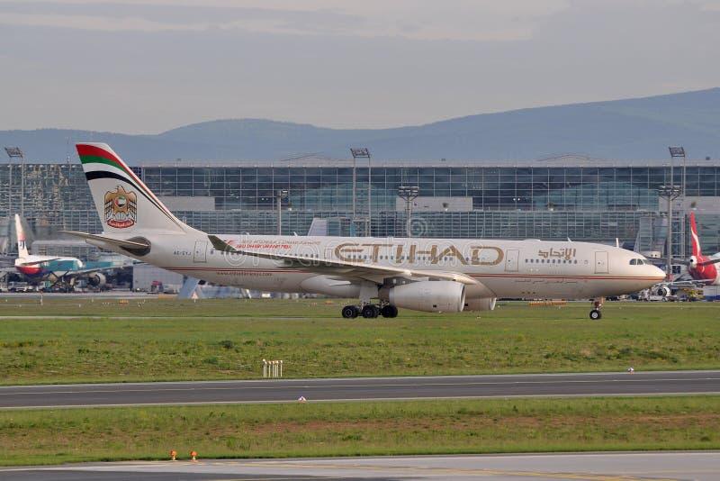 Ethiad A330 images libres de droits
