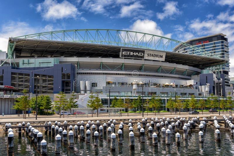 Download Ethiad Stadium Melbourne editorial stock photo. Image of ethiad - 67051713